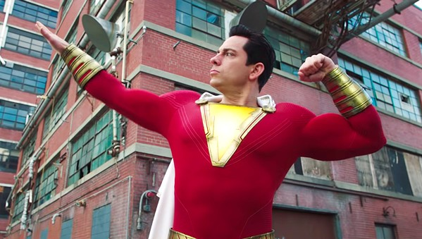 A NEW HERO Shazam! is the origin story about 14-year-old foster kid Billy Batson, who becomes the DC superhero, Shazam (Zachary Levi). - PHOTO COURTESY OF WARNER BROS. AND DC ENTERTAINMENT