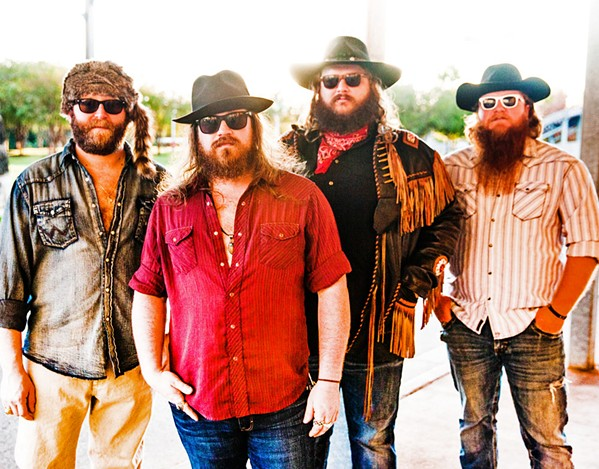 STRAIGHT OUTTA AUSTIN Numbskull and Good Medicine Presents host country rockers Copper Chief at The Siren on April 24. - PHOTO COURTESY OF CHRISTINA FEDDERSEN