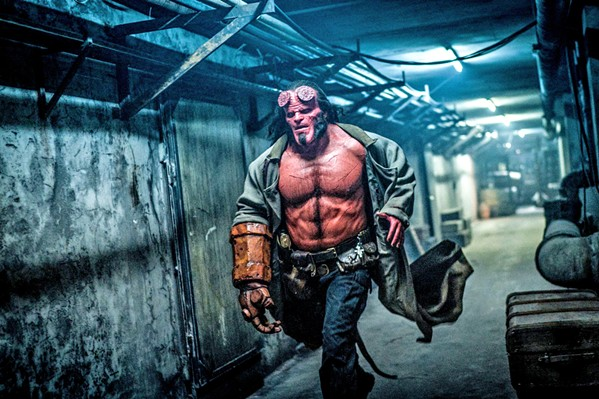 ANTIHERO Well-meaning half-demon Hellboy (David Harbour) must stop an undead sorceress from releasing hell on Earth, in Hellboy. - PHOTO COURTESY OF SUMMIT ENTERTAINMENT
