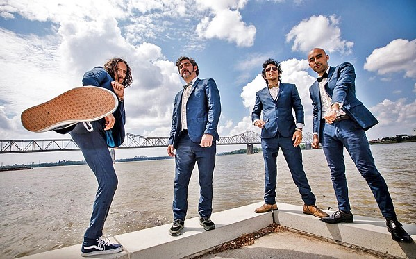 STYLING Chicano Batman plays the Fremont Theater on April 28, delivering their Brazilian Tropicalía, early '70s psychedelic soul, and romantic pop sounds. - PHOTO COURTESY OF CHICANO BATMAN