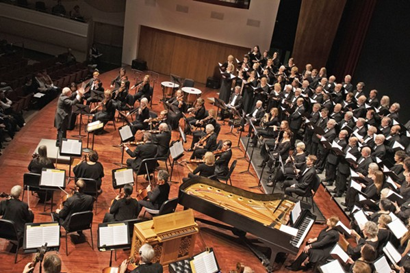 BEING ERNEST The SLO Master Chorale performs Ernest Bloch's masterwork, Avodath Hakodesh, on April 28, in the Performing Arts Center, as part of a three-day celebration of the Swiss composer and photographer. - PHOTO COURTESY OF THE SAN LUIS OBISPO MASTER CHORALE