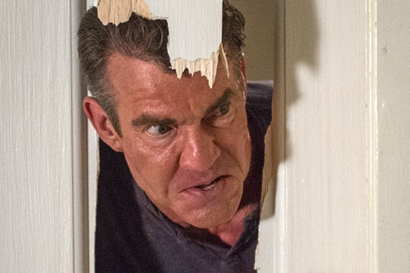 HERE'S CHARLIE! Dennis Quaid stars as Charlie Peck, a man who sells his house to a new couple but then refuses to leave them and his former property alone, in The Intruder. - PHOTO COURTESY OF SCREEN GEMS