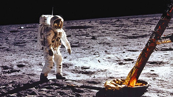 TO THE MOON AND BACK The new documentary Apollo 11 transports viewers back to 1969 when NASA sent men to the moon for the first time. - PHOTO COURTESY OF CNN FILMS