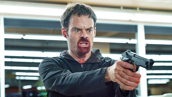 COLD BLOODED ACTOR In HBO's Barry, which is in its second season, Bill Hader plays a hitman turned theater actor who is searching for a more positive lifestyle. - PHOTO COURTESY OF ALEC BERG PRODUCTIONS