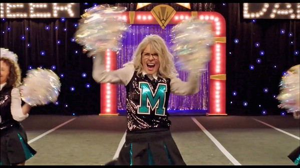 BRING IT! Diane Keaton stars as Martha, who recruits women from her retirement community to mount a cheerleading team, in Poms. - PHOTO COURTESY OF ROSE PICTURES