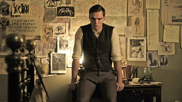 BECOMING J.R.R. Nicholas Hoult stars as the fantasy author J.R.R. Tolkien in Tolkien, a biographical drama about his formative years, when the orphan finds fellowship with other outcasts at school. - PHOTO COURTESY OF FOX SEARCHLIGHT PICTURES