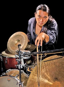 TIMBRE Master percussionist and avant-garde sound artist Tatsuya Nakatani plays a solo set at A Satellite of Love on May 16. - PHOTO COURTESY OF MAKOTO TAKEUCHI