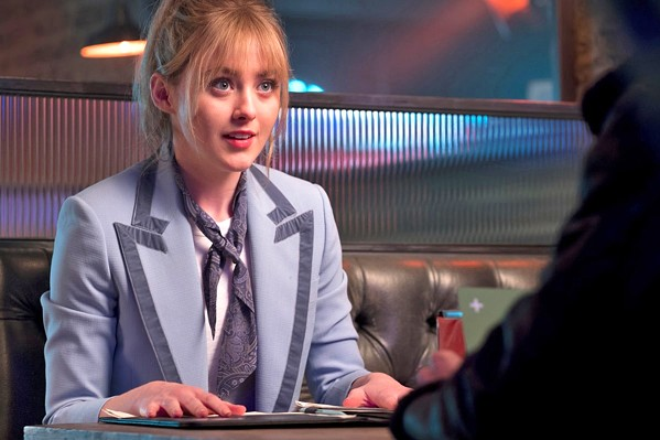 CUB REPORTER Lucy Stevens (Kathryn Newton) is desperate for her big break, so she joins the search for Harry Goodman. - PHOTOS COURTESY OF LEGENDARY ENTERTAINMENT
