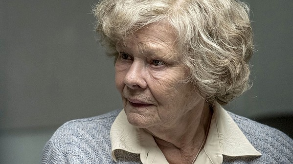 TRAITOR Loosely based on a true story, Joan Stanley (Judi Dench) is a former British civil servant who's discovered, at age 80, to have passed secrets to the Russians in her youth, in Red Joan, screening exclusively at The Palm Theatre. - PHOTO COURTESY OF TRADEMARK FILMS
