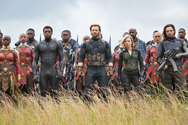 RESTORATION TIME Thanos has turned half the population of the universe to dust, but the remaining Avengers re-team to restore the balance, in Avengers: Endgame. - PHOTO COURTESY OF MARVEL STUDIOS