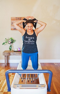 SUPPORTING WOMEN Local pilates instructor Natalie Garay focuses on postpartum rehabilitation and is looking to expand her work. - PHOTO COURTESY OF NATALIE GARAY