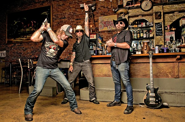 THE GREATEST Rock 'n' roll superstars Supersuckers play The Siren on May 24. - PHOTO COURTESY OF SUPERSUCKERS