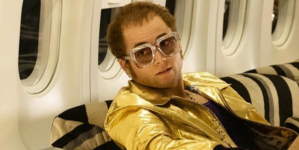 SNEAK PEAK The Palm Theatre will screen the new Elton John (Taron Egerton) fantasy biopic, Rocketman, on May 30. - PHOTO COURTESY OF MARV FILMS
