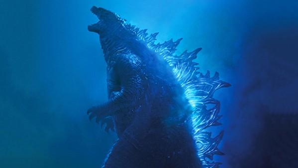 MONSTER MASH A whole slew of monsters—Godzilla, Mothra, Rodan, and King Ghidorah—battle for supremacy on Earth, in Godzilla: King of the Monsters. - PHOTO COURTESY OF WARNER BROS.