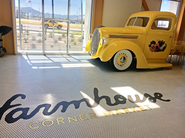 AMERICAN SUNSHINE The 5,500-square-foot, half-restaurant, half-market near the SLO County Regional Airport feels exciting, like a stroll through the San Francisco Ferry Building. - PHOTOS BY BETH GIUFFRE