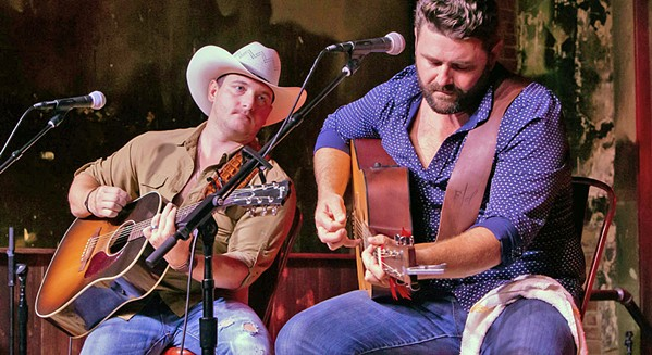 AS SEEN ON THE VOICE Kaleb Lee and Pryor Baird, who squared off against each other on NBC's The Voice, will play Presqu'ile Winery on June 8. - PHOTO COURTESY OF KALEB LEE AND PRYOR BAIRD