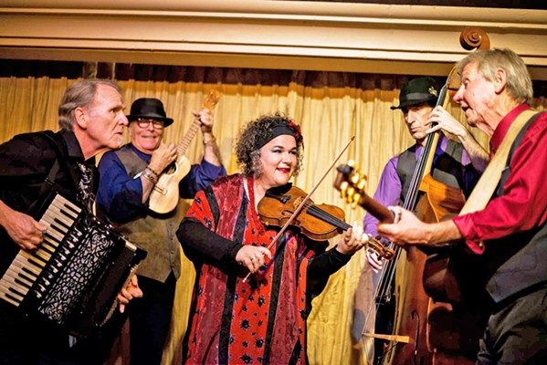 TANGO TO GO Café Musique will join the Cal Poly Symphony on June 8, in the Performing Arts Center, playing two tangos in the first part of the program, which will be followed by the symphony's performance of Tchaikovsky's Symphony No. 4 in F minor. - PHOTO COURTESY OF CAFÉ MUSIQUE