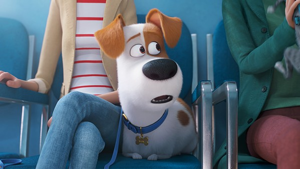 PET SOUNDS Max (voiced by Patton Oswalt) has a whole other life his owners don't know about, in The Secret Life of Pets 2. - PHOTO COURTESY OF UNIVERSAL PICTURES