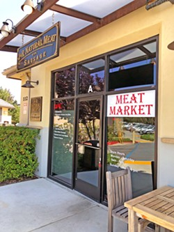 MEAT MARKET You might not be able to find a date at J&R Natural Meats in Templeton, but you'll definitely find top quality, humanely sourced meat. - PHOTOS BY ANNA STARKEY