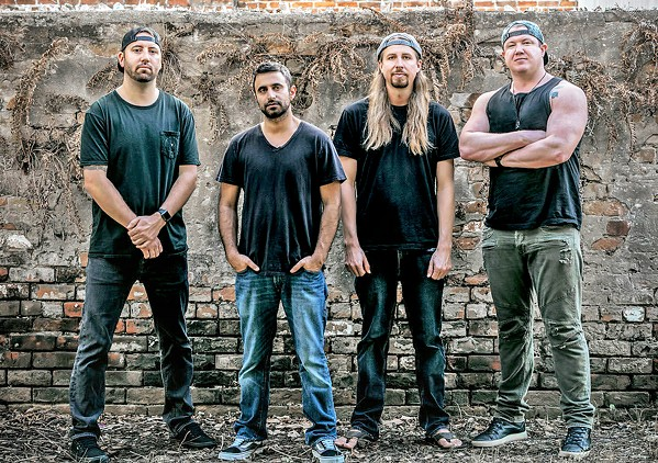 ISLA VISTA BOYS Grammy-nominated reggae/rock band Rebelution plays the Avila Beach Golf Resort on June 20. - PHOTO COURTESY OF REBELUTION