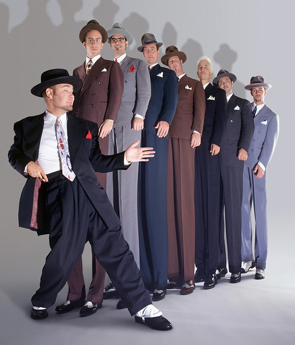 SWINGERS Neo-swing and jump blues act Big Bad Voodoo Daddy plays Presqu'ile Winery on June 14. - PHOTO COURTESY OF BIG BAD VOODOO DADDY