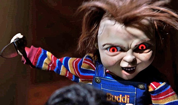 HE'S BACK! The evil doll possessed by a serial killer is back in the reboot of Child's Play. - PHOTO COURTESY OF ORION PICTURES