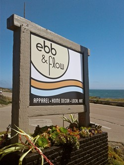 NATURAL SHOPPING Just steps away from the ocean, Diane Matzner is giving her new shop Ebb & Flow a breezy vibe. - PHOTO COURTESY OF EBB & FLOW