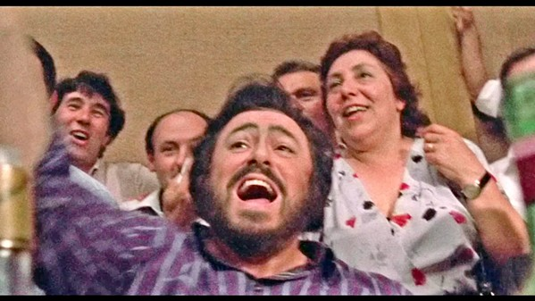 THE MASTER The life and career of famed opera tenor Luciano Pavarotti (center) is explored in director Ron Howard's new documentary, Pavarotti. - PHOTO COURTESY OF IMAGINE ENTERTAINMENT
