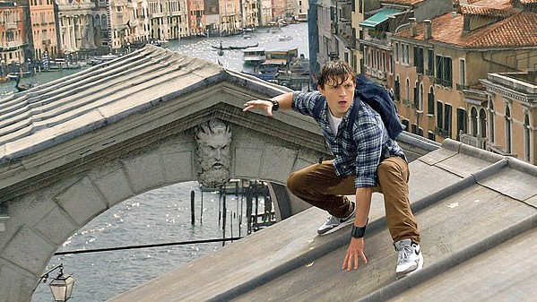 FRIENDLY NEIGHBORHOOD SPIDER-MAN Tom Holland returns as Peter Parker, aka Spider-Man, a fledgling superhero investigating otherworldly attacks plaguing Europe, in Spider-Man: Far From Home. - PHOTO COURTESY OF MARVEL STUDIOS