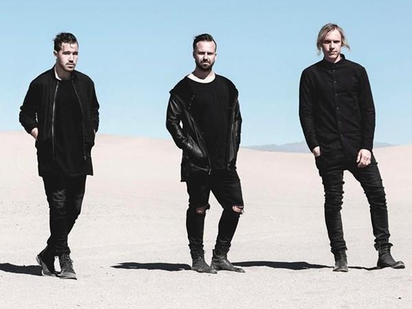 THEY COME FROM A CLUB DOWN UNDER Australian electronic dance trio Rüfüs du Soul plays the Avila Beach Golf Resort on July 18. - PHOTO COURTESY OF RÜFÜS DU SOUL