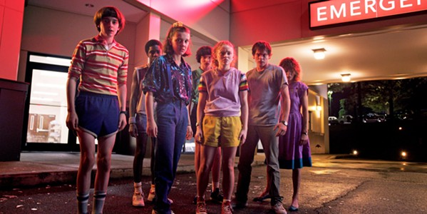 DREAM TEAM The kids from 1980s Hawkins, Indiana, are back for a third season of Stranger Things. This time, they're a little bit older and more complicated as they fight the next manifestation of the Upside Down. - PHOTO COURTESY OF NETFLIX