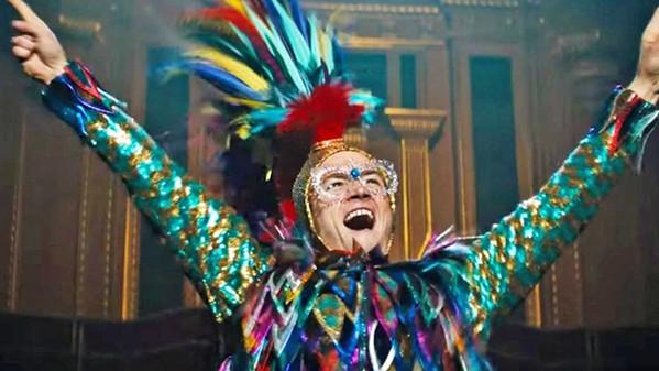 GLAMOR Taron Egerton stars as Elton John in the fantasy biopic, Rocketman. - PHOTO COURTESY OF MARV FILMS