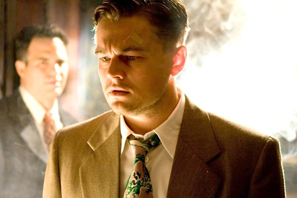 TWISTS AND TURNS In Shutter Island, Leonardo DiCaprio plays the role of a U.S. marshal searching for a patient who's escaped from a physiatrist hospital. - PHOTO COURTESY OF PARAMOUNT PICTURES