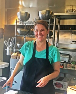 THE DAILY SPECIAL Chipwrecked owner Sarah Paddack is about to celebrate her restaurant's seventh anniversary. - PHOTOS BY BETH GIUFFRE