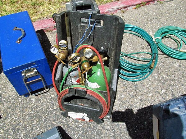STOLEN GOODS The Santa Barbara County Sheriff's Office uncovered a local black market for stolen farming equipment in the summer of 2017 worth thousands of dollars. Items, including a pressure washer and a welder, were reported stolen from Santa Maria farms. - FILE PHOTO COURTESY OF SANTA BARBARA COUNTY SHERIFF'S OFFICE