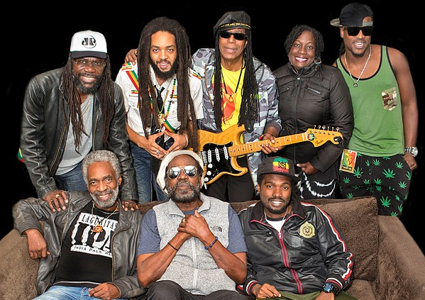 FEELING IRIE Reggae act The Original Wailers plays the Fremont Theater on Aug. 15. - PHOTO COURTESY OF THE ORIGINAL WAILERS