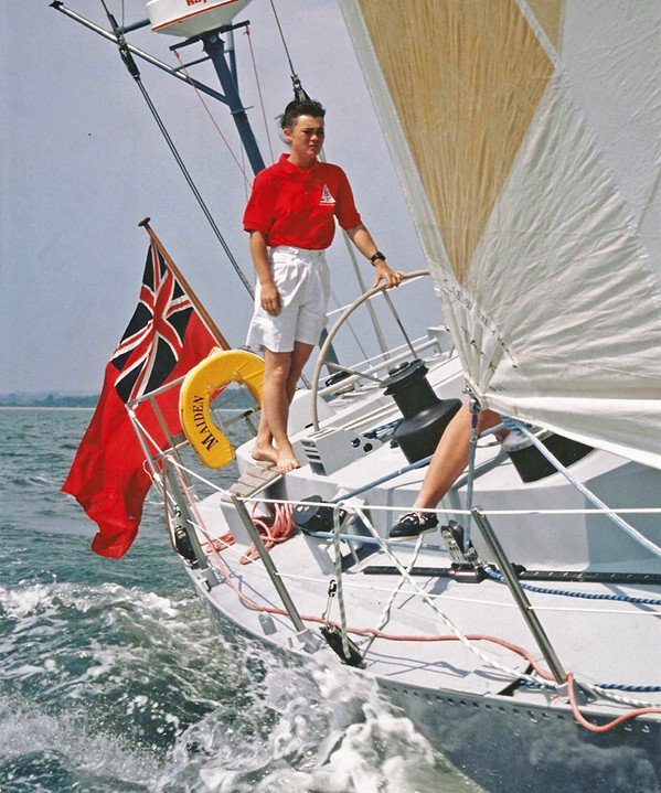 YES, SHE CAN In the documentary Maiden, we watch as 24-year-old charter boat cook Tracy Edwards assembles a team of female sailors to enter the first all-female crew in the Whitbread Round the World Race in 1989. - PHOTO COURTESY OF NEW BLACK FILMS