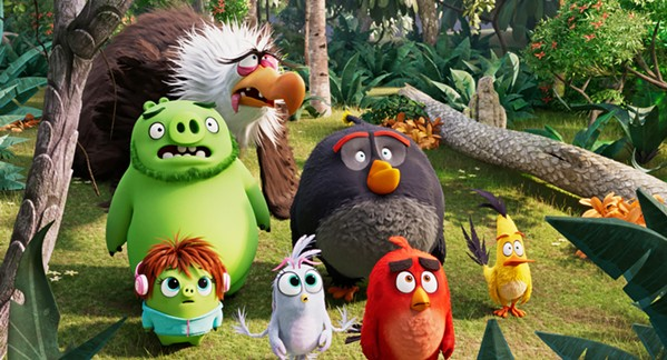 LET THE GAMES BEGIN The feud between the flightless birds and the scheming pigs continues, in The Angry Birds Movie 2. - PHOTO COURTESY OF SONY PICTURES ANIMATION