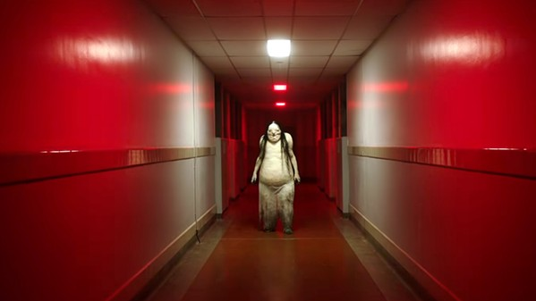 BOO! A group of teens discover a book written by a young girl with horrible secrets, and the book unleashes the terrors within, in Scary Stories to Tell in the Dark. - PHOTO COURTESY OF 1212 ENTERTAINMENT