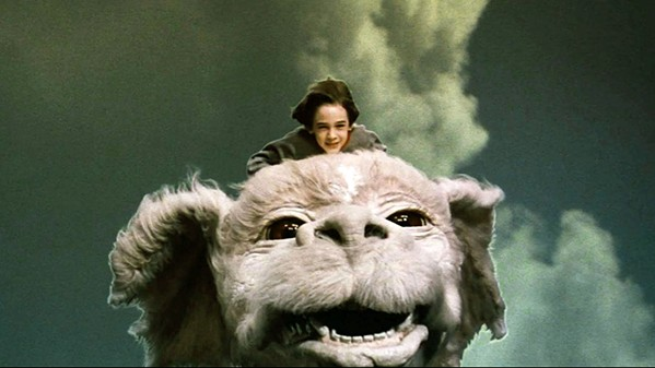 TO FANTASIA! Bastian (Berret Oliver) escapes his schoolmates' bullying through an ancient storybook, in The Neverending Story, screening Aug. 24, in the Fremont Theater. - PHOTO COURTESY OF CONSTANTIN FILM