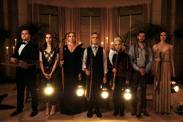 HIDE AND KILL Grace (Samara Weaving) gets married into the La Domas family with the hopes of finally having a family of her own. What she doesn't know is that they want her dead. - PHOTOS COURTESY OF MYTHOLOGY ENTERTAINMENT