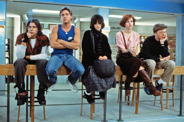DON'T YOU FORGET ABOUT ME Flashback to the '80s with a one-night screening of the classic teen comedy-drama, The Breakfast Club, at the Fremont Theater, on Friday, Aug. 30, at 8 p.m. - PHOTO COURTESY OF UNIVERSAL PICTURES