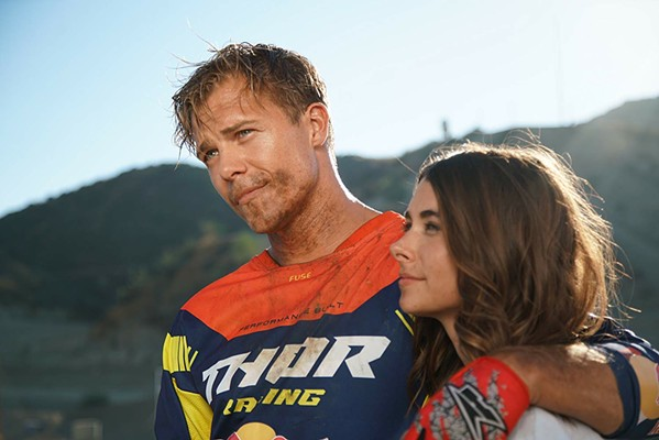 OFF-ROAD WARRIOR Former soldier Marshall Bennett (Michael Roark) becomes a competitive motocross racer after being medically discharged, in the sports drama, Bennett's War. - PHOTO COURTESY OF ESX ENTERTAINMENT