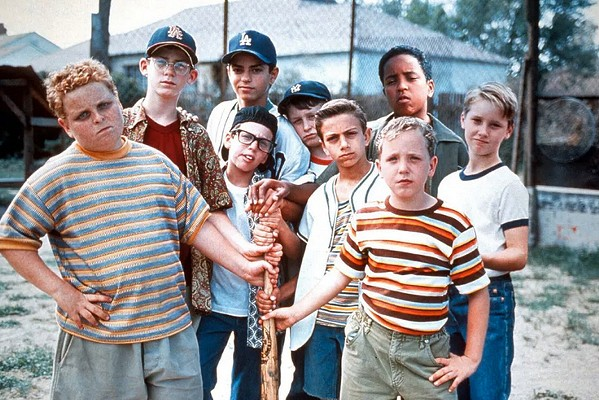 PLAY BALL The classic coming-of-age comedy, The Sandlot, is screening at the Fremont Theater for one night only on Saturday, Aug. 31, at 8 p.m. - PHOTO COURTESY OF 20TH CENTURY FOX