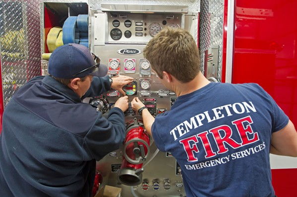 COVERAGE Unofficial results from the Templeton Community Services District special election show that residents are willing to fund their fire department. - FILE PHOTO BY JAYSON MELLOM