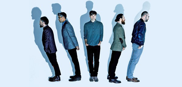 ALT-ROCKERS Eight-time Grammy-nominated indie rock act Death Cab for Cutie plays the Vina Robles Amphitheatre on Sept. 21. - PHOTO COURTESY OF DEATH CAB FOR CUTIE