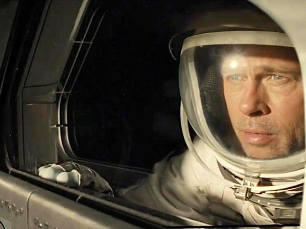 INTO THE ETHER In Ad Astra, Brad Pitt stars as astronaut Roy McBride, who ventures into space in search of his father, whose own space mission failed ... or did it? - PHOTO COURTESY OF NEW REGENCY PICTURES