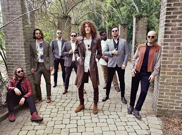 NEW ORLEANS HITMAKERS The Revivalists will bring their amazing alt- and roots-rock sounds to Vina Robles Amphitheatre on Sept. 26. - PHOTO COURTESY OF ZACKERY MICHAEL