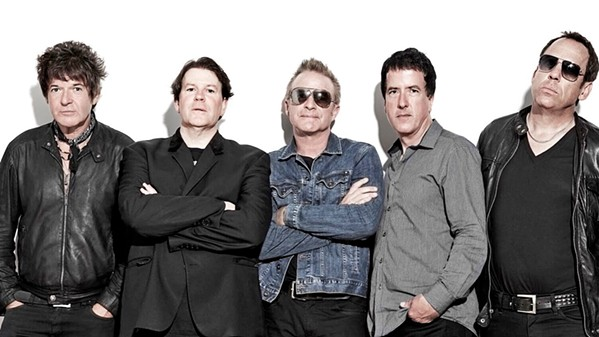 TEAR IT UP Tearaways, featuring Blondie drummer Clem Burke, play The Siren on Oct. 3. - PHOTO COURTESY OF TEARAWAYS