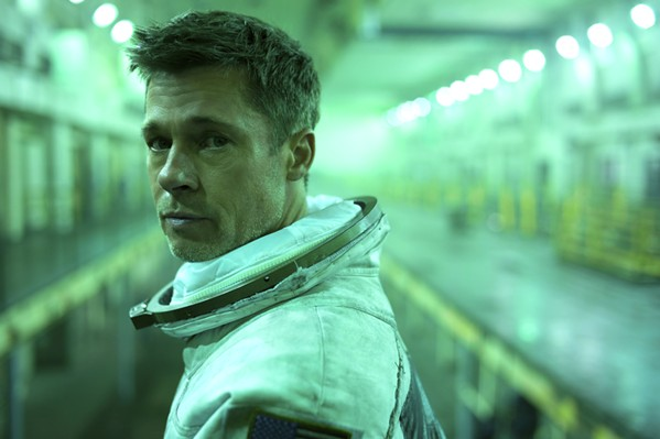HIS ODYSSEY Like Telemachus, Odysseus' son in Homer's Odyssey, Roy McBride (Brad Pitt) goes on an adventure in search of information about his father, whose own space mission 30 years prior now endangers Earth. - PHOTOS COURTESY OF NEW REGENCY PICTURES